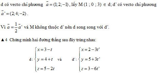 2. Điều kiện để hai đường thẳng cắt nhau